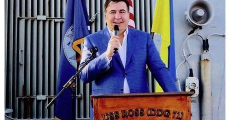 Ve se bi bat ngay, nhung ong Saakashvili van tuyen bo sap tro lai Gruzia - Anh 1