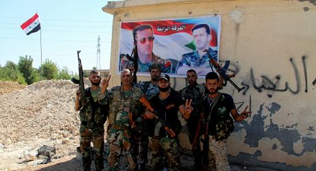 Quan doi Syria giai phong quan tay-bac Aleppo - Anh 1