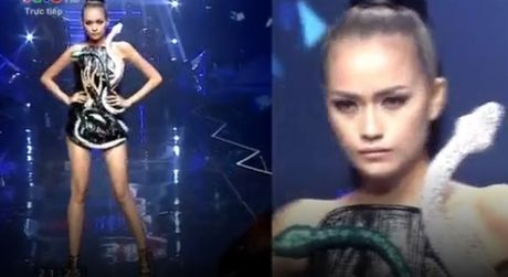 Ngoc Chau vuot mat co gai 1m55 gianh Quan quan Vietnam Next Top Model 2016 - Anh 6