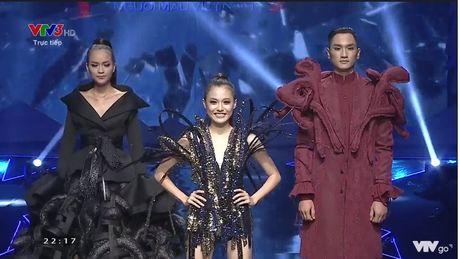Ngoc Chau vuot mat co gai 1m55 gianh Quan quan Vietnam Next Top Model 2016 - Anh 7
