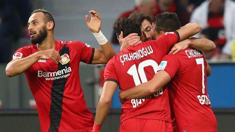 Thua Leverkusen 0 - 2, Dortmund bo lo co hoi bam duoi Bayern - Anh 1
