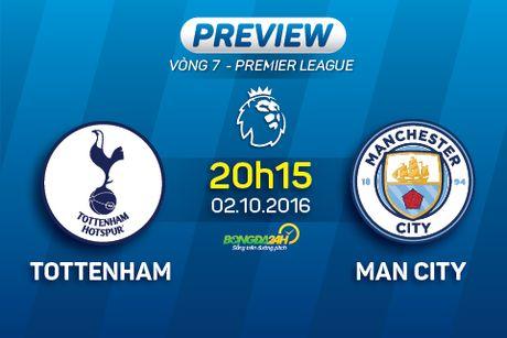 Tottenham vs Man City (20h15 ngay 2/10): Khong co thien duong thu bay? - Anh 1