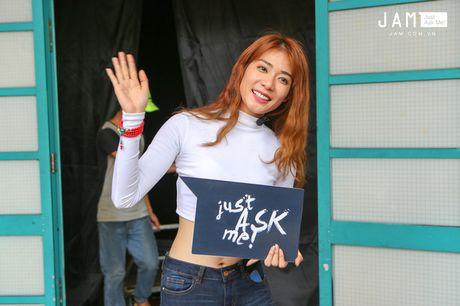 Truoc chung ket Next Top, Kim Nha tuoi vui va nhang nhit nhu the nay day! - Anh 1