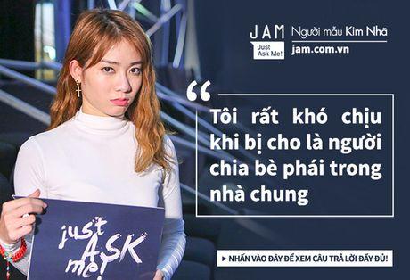Truoc chung ket Next Top, Kim Nha tuoi vui va nhang nhit nhu the nay day! - Anh 4