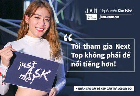 Truoc chung ket Next Top, Kim Nha tuoi vui va nhang nhit nhu the nay day! - Anh 5