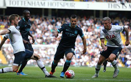 TRUC TIEP (H.T) Tottenham 2-0 Man City: Gao nuoc lanh thu 2 - Anh 1
