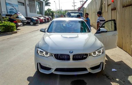 BMW M3 the he moi ve Viet Nam - Anh 1