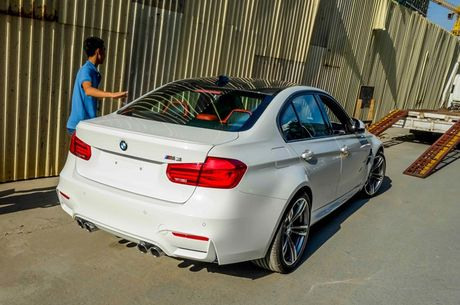BMW M3 the he moi ve Viet Nam - Anh 8