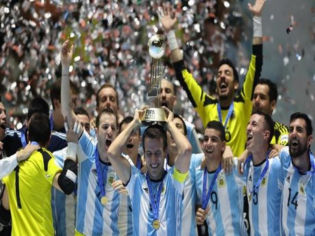 Argentina vo dich Futsal World Cup - Anh 1
