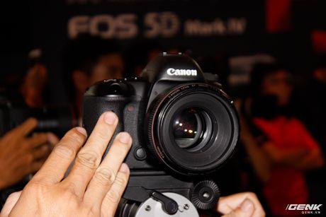 Canon Viet Nam chinh thuc gioi thieu sieu pham EOS 5D Mark IV: nhe, manh va nhieu tinh nang hon - Anh 4