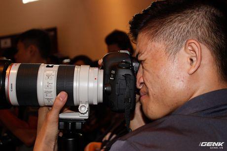 Canon Viet Nam chinh thuc gioi thieu sieu pham EOS 5D Mark IV: nhe, manh va nhieu tinh nang hon - Anh 6
