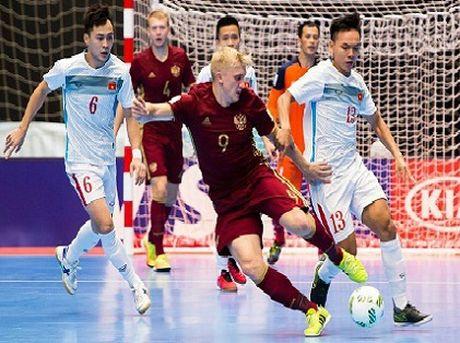 NONG: Futsal Viet Nam nhan giai Fair Play tai Futsal World Cup 2016 - Anh 1