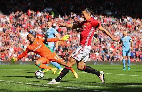 Jose Mourinho: 'Hoa Stoke la tran dau hay nhat cua Man United mua nay' - Anh 1