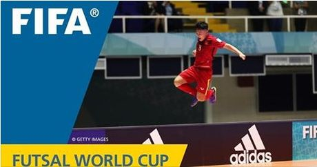 Minh Tri lot top 10 ban thang dep nhat Futsal World 2016 - Anh 1