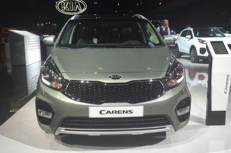 Can canh xe gia dinh 7 cho Kia Carens 2017 ngoai doi thuc - Anh 10