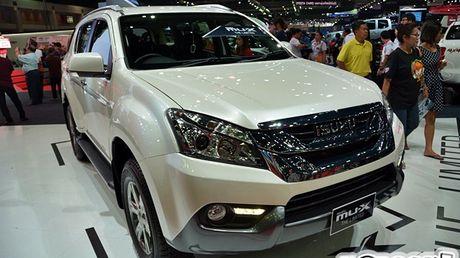 Isuzu se mang phien ban dac biet cua xe SUV MU-X va ban tai D-Max den trien lam VMS 2016 - Anh 1