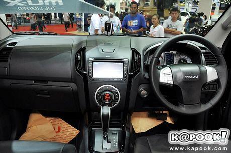 Isuzu se mang phien ban dac biet cua xe SUV MU-X va ban tai D-Max den trien lam VMS 2016 - Anh 5