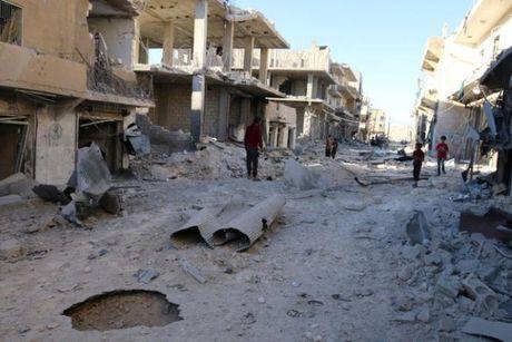 Quan doi Syria mo duong song cho phe noi day o Aleppo - Anh 1