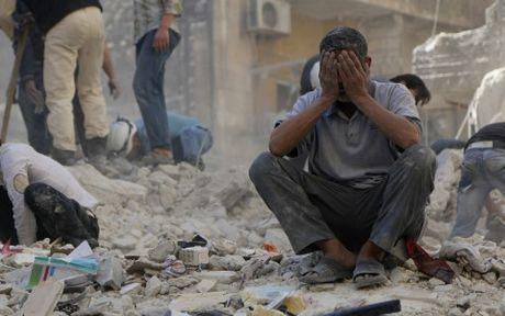 Chien su tai Syria bung phat ac liet - Anh 1