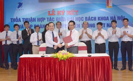 VNPT ho tro Dai hoc Bach khoa Ha Noi phat trien khoa hoc cong nghe - Anh 1