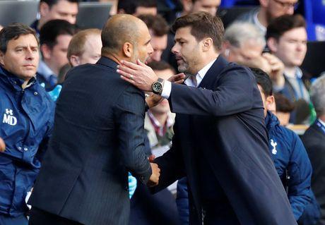 Khong phai Mourinho, Pochettino moi la doi trong cua Guardiola - Anh 1