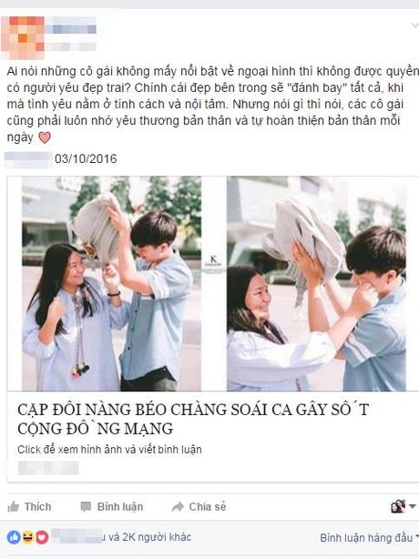 "Cap doi Thai Lan ""nang beo - chang soai ca"" gay sot mang xa hoi - Anh 2"