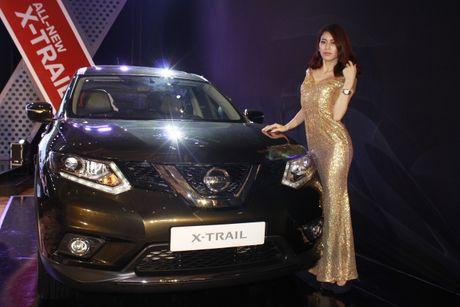 'Dot mat' chan dai ben chiec crossover Nissan X-Trail 2016 - Anh 7