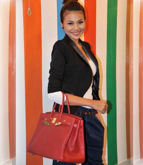 'Giat minh' voi phu kien bac ty cua sieu mau Thanh Hang - Anh 2