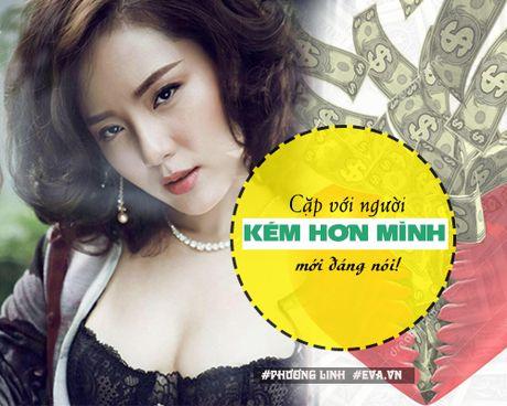 "Ban tron showbiz: My nhan Viet nghi gi ve dai gia va nhung anh chang ""gia da""? - Anh 16"