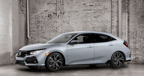 Anh chi tiet Honda Civic Hatchback 2017 - Anh 1