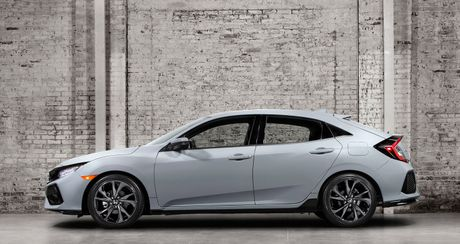 Anh chi tiet Honda Civic Hatchback 2017 - Anh 3