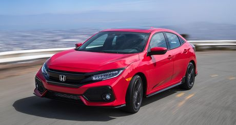 Anh chi tiet Honda Civic Hatchback 2017 - Anh 6