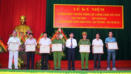 Ha Nam ky niem ngay truyen thong Luc luong Canh sat PCCC - Anh 1