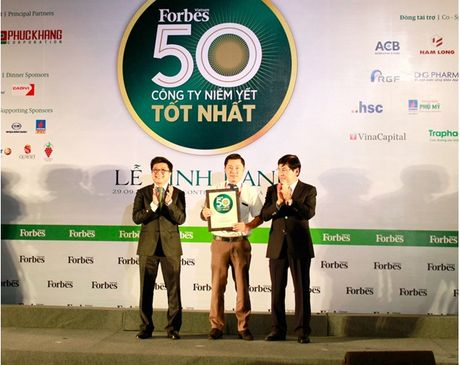 "Dat Xanh dat ""Top 50 cong ty niem yet tot nhat Viet Nam"" - Anh 1"