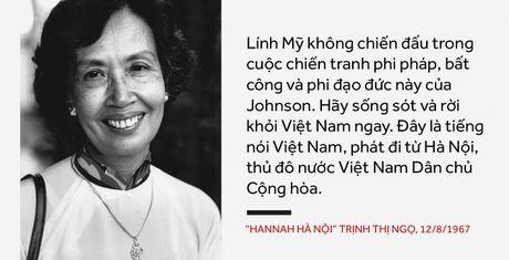 Hanoi Hannah: Giong doc da thanh am anh khong quen voi linh My - Anh 1
