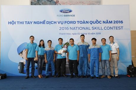 "Ford Viet Nam to chuc ""Hoi thi tay nghe dich vu toan quoc"" - Anh 4"
