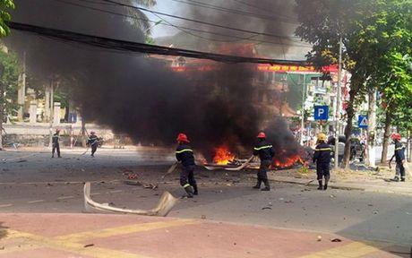 Vu no o Quang Ninh: Da xac minh duoc danh tinh lai xe xau so - Anh 1