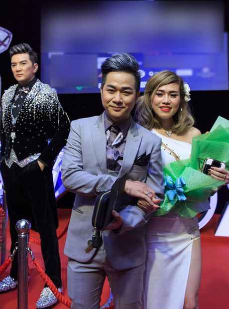 Quach Tuan Du lan dau khoe ban gai doanh nhan - Anh 5