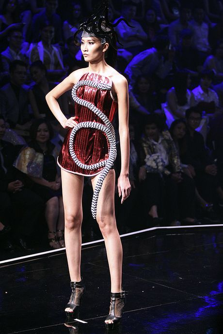 Ngoc Chau doat quan quan Vietnam's Next Top Model 2016 - Anh 10