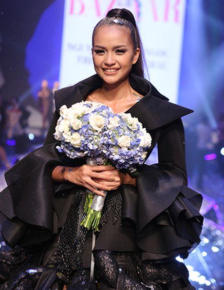 Ngoc Chau doat quan quan Vietnam's Next Top Model 2016 - Anh 4