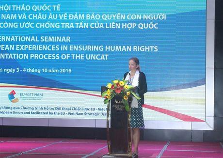 Viet Nam – EU: Chia se kinh nghiem dam bao nhan quyen - Anh 2