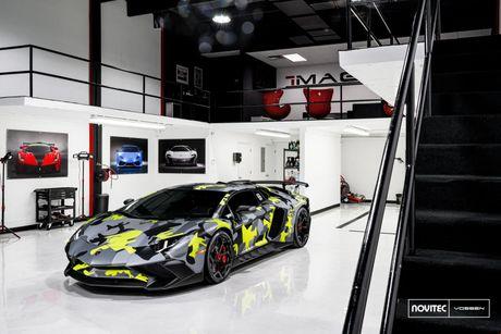 Lamborghini Aventador SV thay dien mao, do cong suat - Anh 2