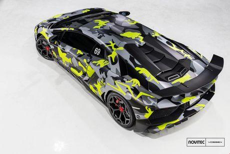Lamborghini Aventador SV thay dien mao, do cong suat - Anh 3