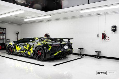 Lamborghini Aventador SV thay dien mao, do cong suat - Anh 4