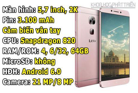 Top 10 smartphone manh nhat the gioi: iPhone 7 Plus dau bang - Anh 9