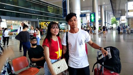 Cong Phuong, Tuan Anh ve nuoc hoi quan cung DTVN - Anh 1