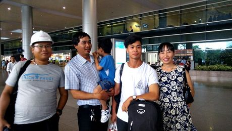 Cong Phuong, Tuan Anh ve nuoc hoi quan cung DTVN - Anh 4