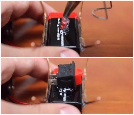 Huong dan tu che robot mini cuc don gian - Anh 16