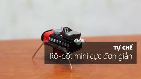 Huong dan tu che robot mini cuc don gian - Anh 1