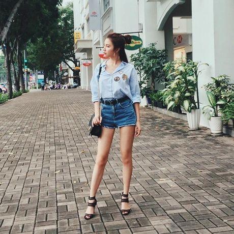 Thanh Hang lang xe ao khoac mua thu, Toc Tien 'ru' Luu Huong Giang dien do dong dieu - Anh 9